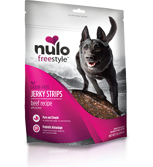 Nulo Jerky Strips Beef Recipe with Coconut 5 oz.