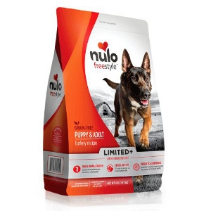 Nulo FreeStyle™ Limited+ Puppy & Adult Turkey Recipe