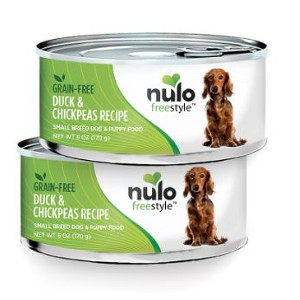 Nulo FreeStyle™ Canned Small Breed Duck & Chickpeas Recipe