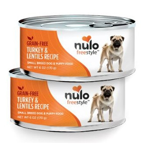 Nulo FreeStyle™ Canned Small Breed Turkey & Lentils Recipe
