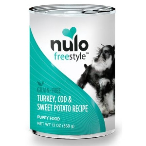 Nulo FreeStyle™ Canned Puppy Turkey, Cod & Sweet Potato Recipe