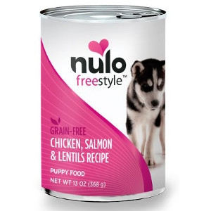 Nulo FreeStyle™ Canned Puppy Chicken, Salmon & Lentils Recipe
