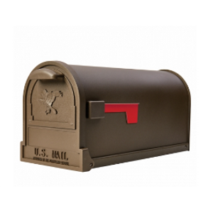 Arlington Post Mount Mailbox by Gibraltar Mailboxes
