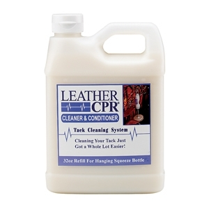 Leather CPR Cleaner & Conditioner Squeeze Bottle Refill 32 oz.