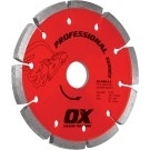 OX Professional PMR 4.5in Tuck Pointing Diamond Blade