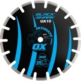 OX Ultimate UA10 Black Shark Segmented Diamond Blade - Asphalt