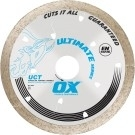 OX Ultimate UCT 10in Continuous Rim Diamond Blade - All Tiles