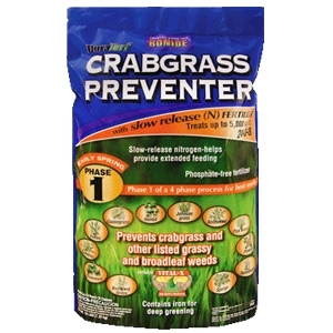 Bonide Crabgrass Preventer Phase 1