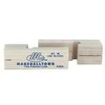 "Marshalltown 3 3/4"" Wood Line Blocks"