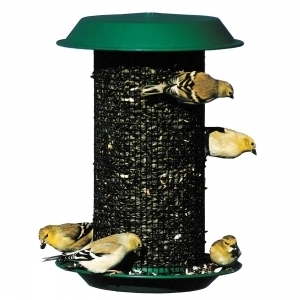 "Magnum Sunflower Feeder Green 8.5"" Dia. X 12."