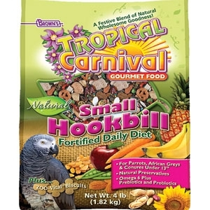 TROPICAL CARNIVAL NATURAL PARROT