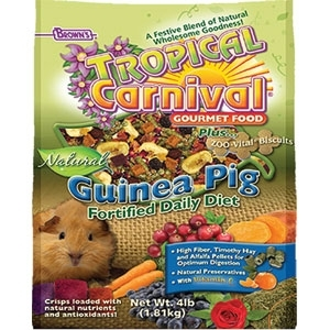 TROPICAL CARNIVAL NATURAL GUINEA PIG