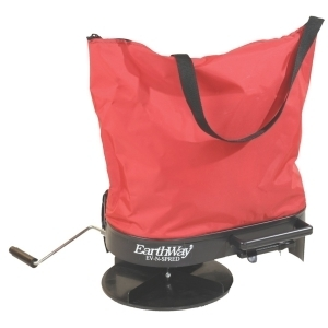 Hand Operated Bag Spreader Red 5 Pound Hopper