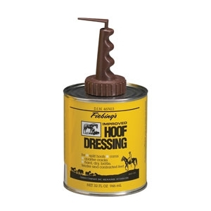 Fiebing Hoof Dressing with Brush Top Applicator 32 oz.