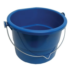 HEATED FLATBACK BUCKET Blue/10 Qt.