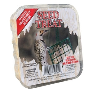 Picture Label Suet Seed Treat/11.75 Oz.