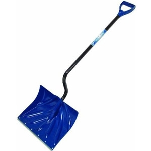 "Ames True Temper Arctic Blast 18"" Poly Ergonomic Snow Shovel"