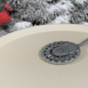 Bird Bath 250 Watt De-Icer with Aluminum Base