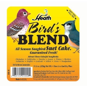 Heath Outdoor Products Birds Blend Suet Cake