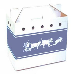 Cardboard Pet Carrier by Packaging Control Corp.