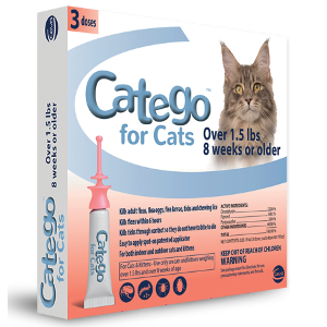 Catego® Flea & Tick Control for Cats