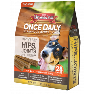 The Missing Link® Once Daily Superfood Dental Chew - Hips, Joints, & Teeth