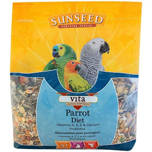 Sunseed Vita Sunscription Parrot Diet