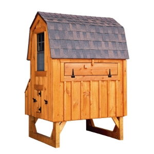 Chicken Coop Dutch 4x6