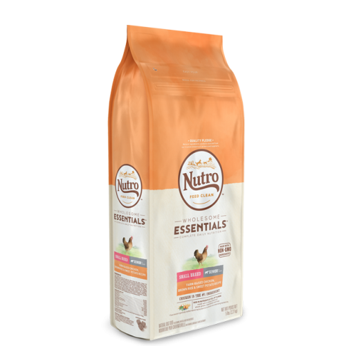Nutro™ Wholesome Essentials™ Small Breed Senior Chicken, Brown Rice, & Sweet Potato