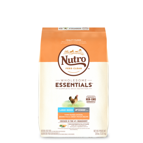 Nutro™ Wholesome Essentials™ Large Breed Senior Chicken, Brown Rice, & Sweet Potato