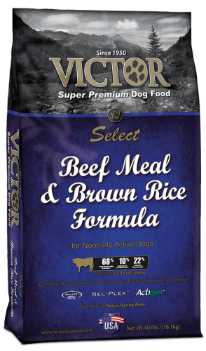 Victor Select Beef & Brown Rice