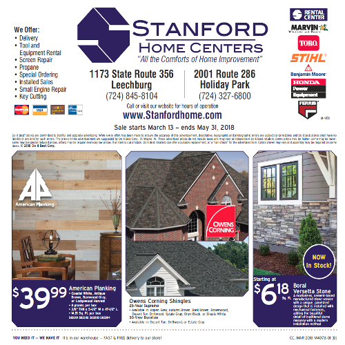 Lumber and Building Materials Sale Flyer