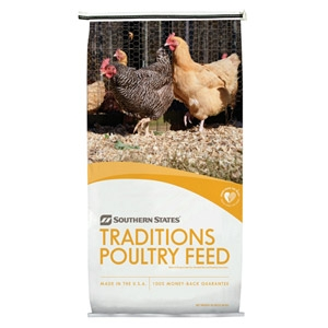 Southern States® Traditions Egg Layer Poultry Feed Pellet