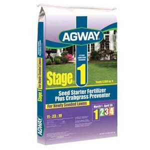 Agway® Stage 1 Fertilizer with Crabgrass Control