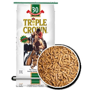 Triple Crown 30% Pelleted Equine Supplement