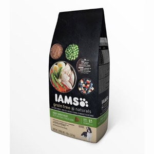 Iams® Grain Free Naturals™ Adult Chicken + Garden Pea Dog Food
