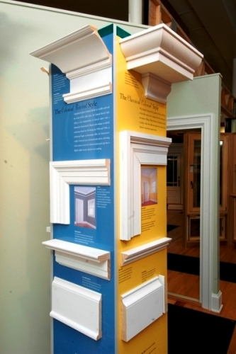 Moulding & trim style display