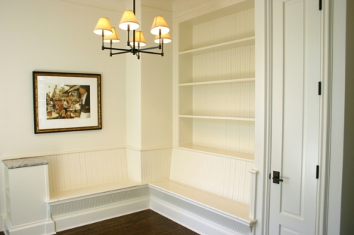 Mudroom installation