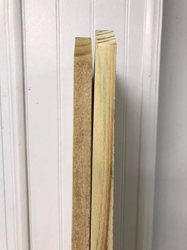 Economy Fence Boards-1/8