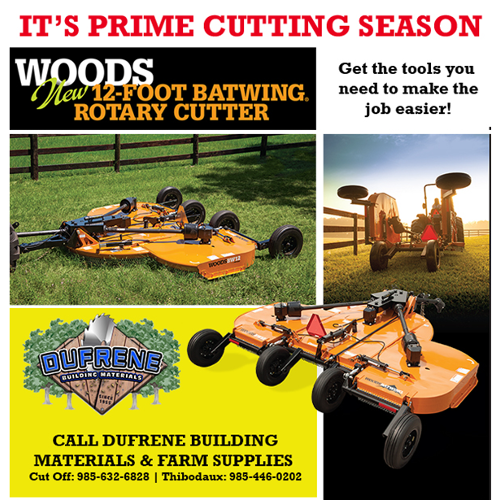 New Product Offering: Woods  Batwing Rotary Cutter