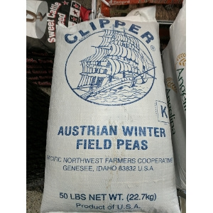 Clipper Brand Austrian Winter Field Peas 50 lb. Bag