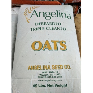 Angelina Debearded Triple Cleaned Oats 50 lb. Bag
