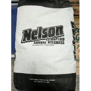Nelson Tetraploid Annual Rye Grass 50 lb. Bag