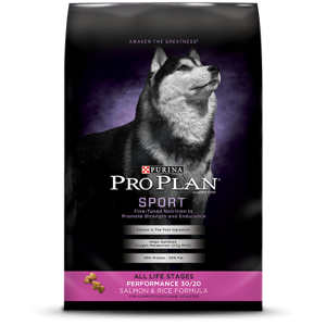 Purina Pro Plan Sport-Performance 30/20 Salmon & Rice Formula for Dogs