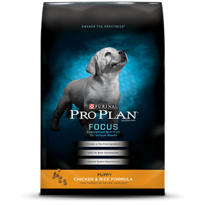 Purina Focus Puppy Chicken & Rice Formula