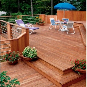 California Redwood  2x6 Redwood Select Heart Decking