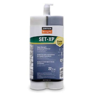 Simpson Set-XP High Strength Epoxy Adhesive 22OZ