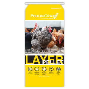 Poulin Layer Pellets $1 Off