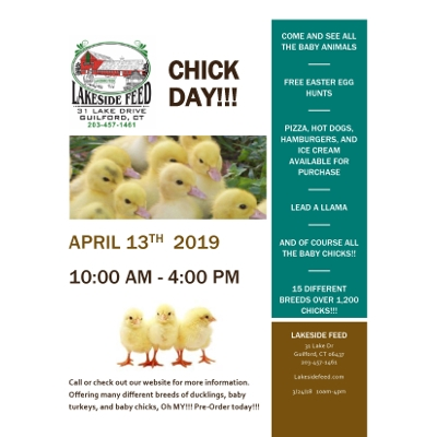 Lakeside Feed's Chick Day