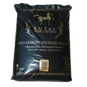 Royal Wood Bedding Pellets